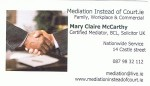 Mediation instead of Court.ie