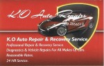 K.O Auto Rapair and Recovery service