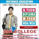 B.Tech Distance Education