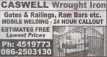 Caswell Wrought Iron
